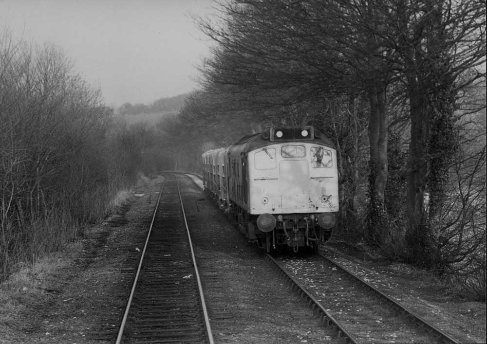 On The Up Fast Erewash Valley Line South Of Clay Cross