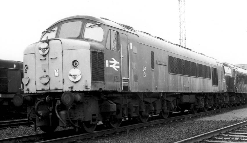 A Fine Portrait Of D4 Great Gable At Toton Probably In