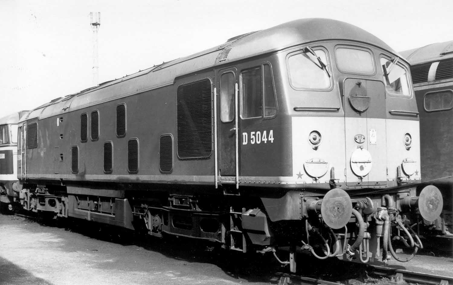 5044 The Only Class 24 To Sail In A Ship