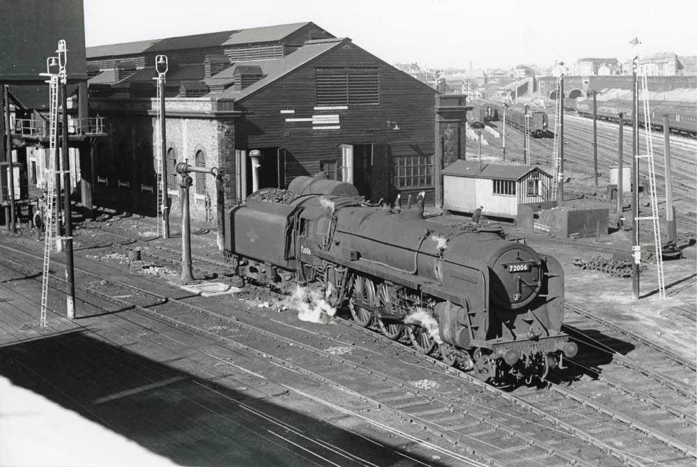 A Glorious View Of 72006 Clan Mackenzie At Bank Hall Shed