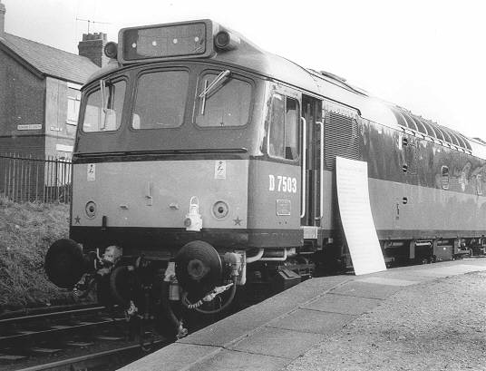 8ea724b65362 D7503 on display at Barrow for review by the officials from the nearby  Vickers-Armstrong Works