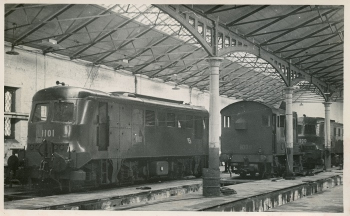 Inchicore Diesel Shed On May 2nd 1952 Keeping Company
