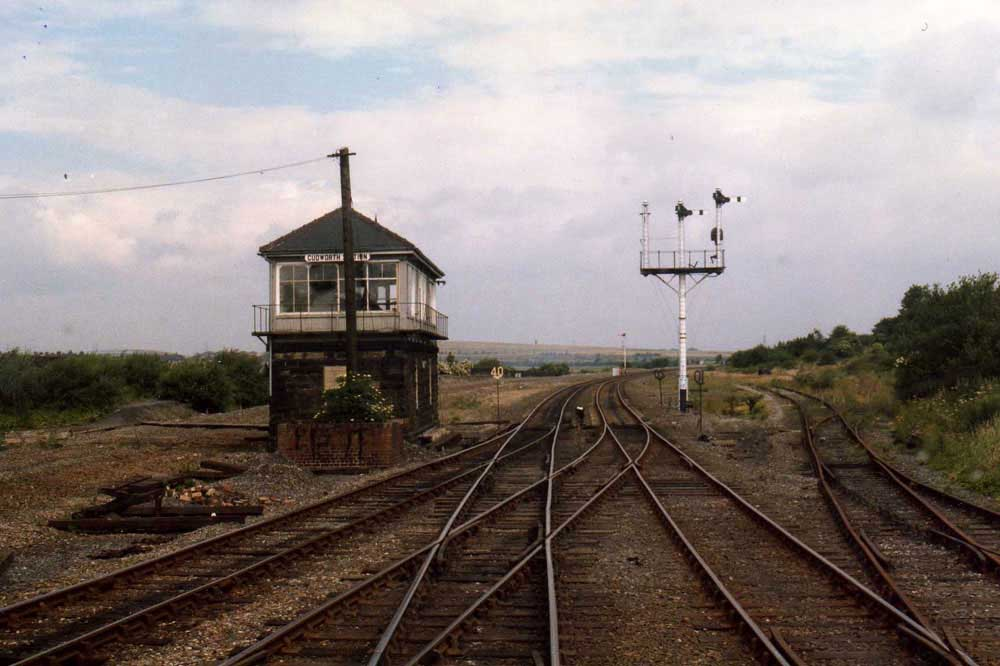 Cudworth Station Signal Box July 8th 1986 A View From
