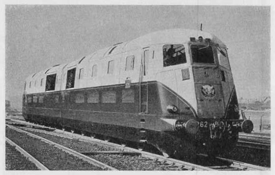 Another View Of This Pioneering Double Unit Locomotive